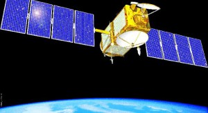 Jason-1 satellite (Credits: NASA).