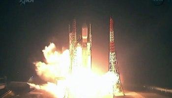 Launch of HTV-4 on July 3 (Credits: NASA/JAXA).
