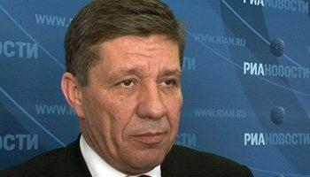 Roscosmos chief Vladimir Popovkin, pictured at a press conference in 2011 (Credits: RIA Novosti).