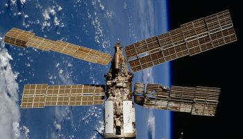 In 1997, a Progress cargo ship crashed into Mir's Spektr module during an experimental docking maneuver. What would happen if a commercial vehicle did the same? (Credits: NASA).
