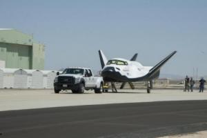 Dream Chaser had successfully completed all prior tests, such as this runway tow (Credits: SNC).