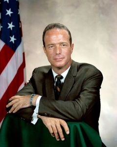 NASA Astronaut Malcolm Scott Carpenter (Credits: NASA).