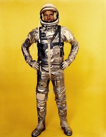 1's crew: a Mercury astronaut, spacewalker and rookie