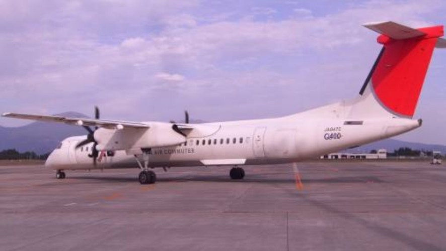 Japan Air Commuter, JA847C (Credits: Japan Transportation Safety Board).