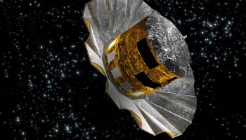 Gaia space telescope (Credits: ESA).