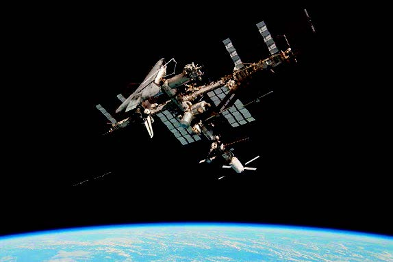 space shuttle to iss - photo #24