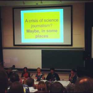 While the question of a crisis in science journalism arises each Science Communication Conference, there may be no need to worry just yet (Credits: Keatl http://bit.ly/1i8ZiII).