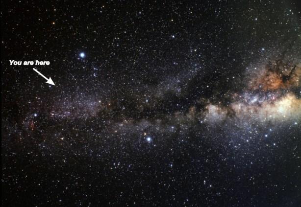 Do not get lost… (Credits : NASA).