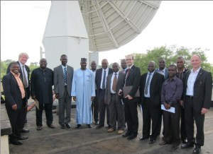 UN technical committee visits Nigeria's satellite ground control facilities (Credits: United Nations).