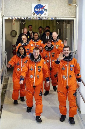 Shuttle Columbia's STS-107 Crew