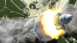 NASA's Space Launch System remains on time and budget (Credits: NASA).