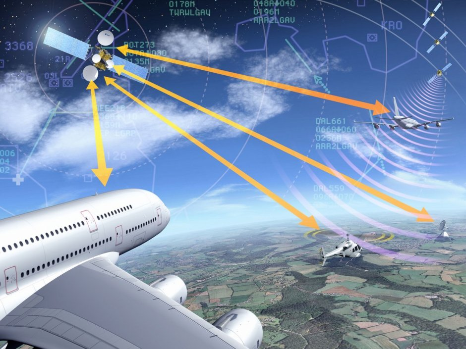 Establishing satellite communication and data link standards will bring about a paradigm shift in air traffic connectivity. — Credits: ESA