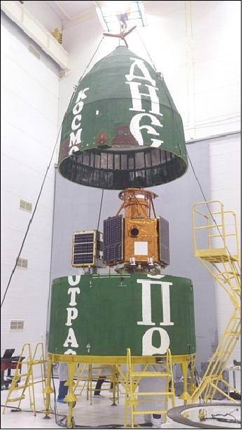 Integrating DubaiSat-2 into Dnepr launch vehicle
