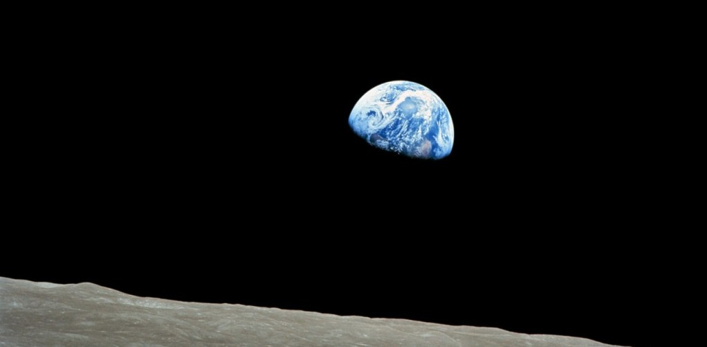 Earth rise, an iconic picture taken by Apollo 8 crew from Moon orbit. - Credit: NASA