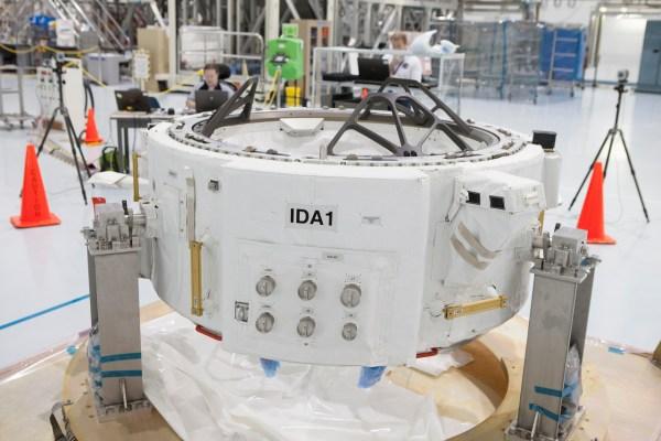 International Docking Adapter. credits: NASA
