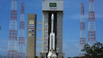 Brazilian rocket VLS-1. – Credits: FAB-Força Aèrea Brasileira.
