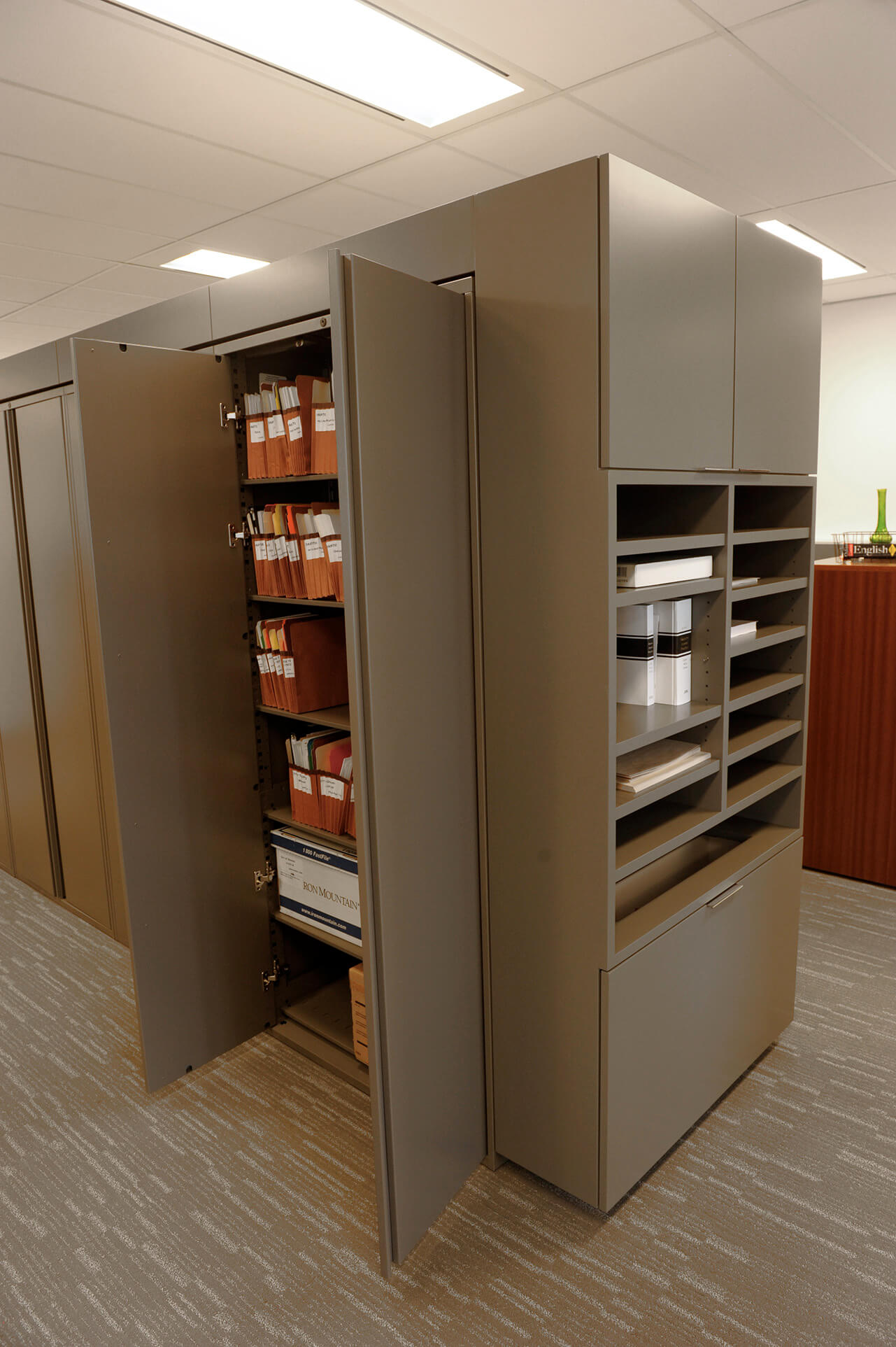 Office Storage Solutions  Spacesaver Storage Solutions