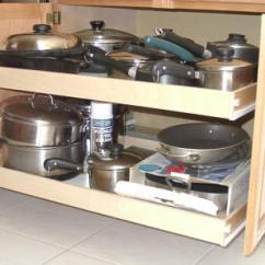 Pull Out Kitchen Cabinet Estimator Space Saving Pullout Shelves That Slide Custom Sliding For Your Cabinets
