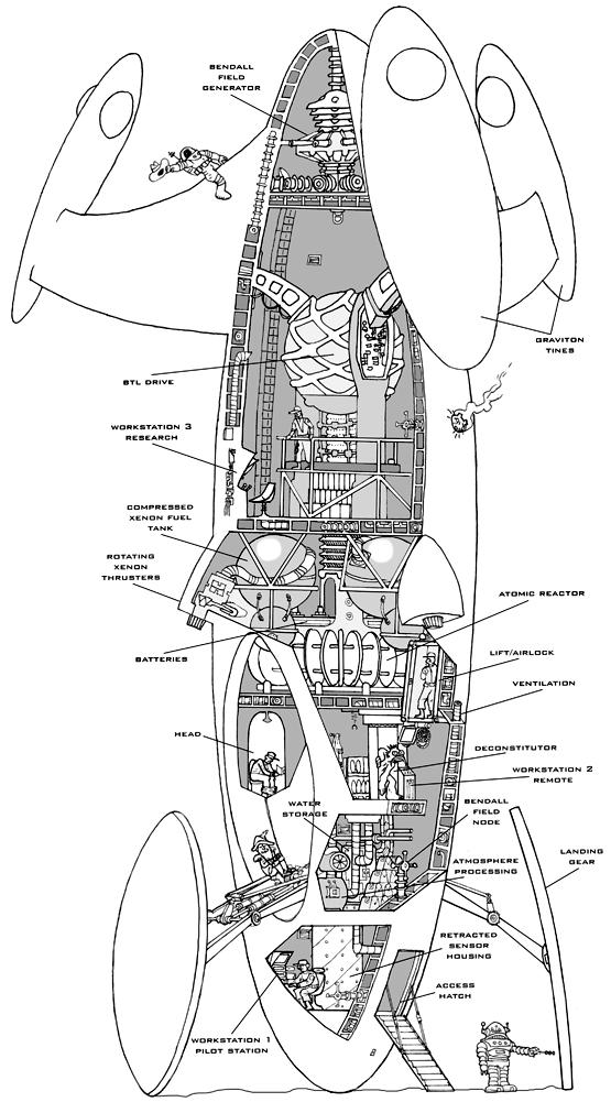 1000+ images about Spaceship Floorplans & Cutaways on