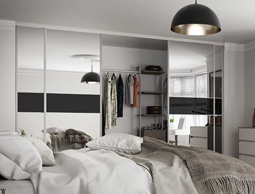 Wardrobes For Small Rooms Spaceslide