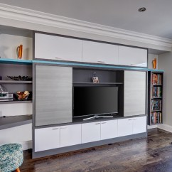Living Room Built In Wall Units Luxury Rooms Pics Toronto Custom Ins Wardrobes Shelving Storage Family Antracita With High Gloss White And River Rock Doors Factory Painted Accent Shelf