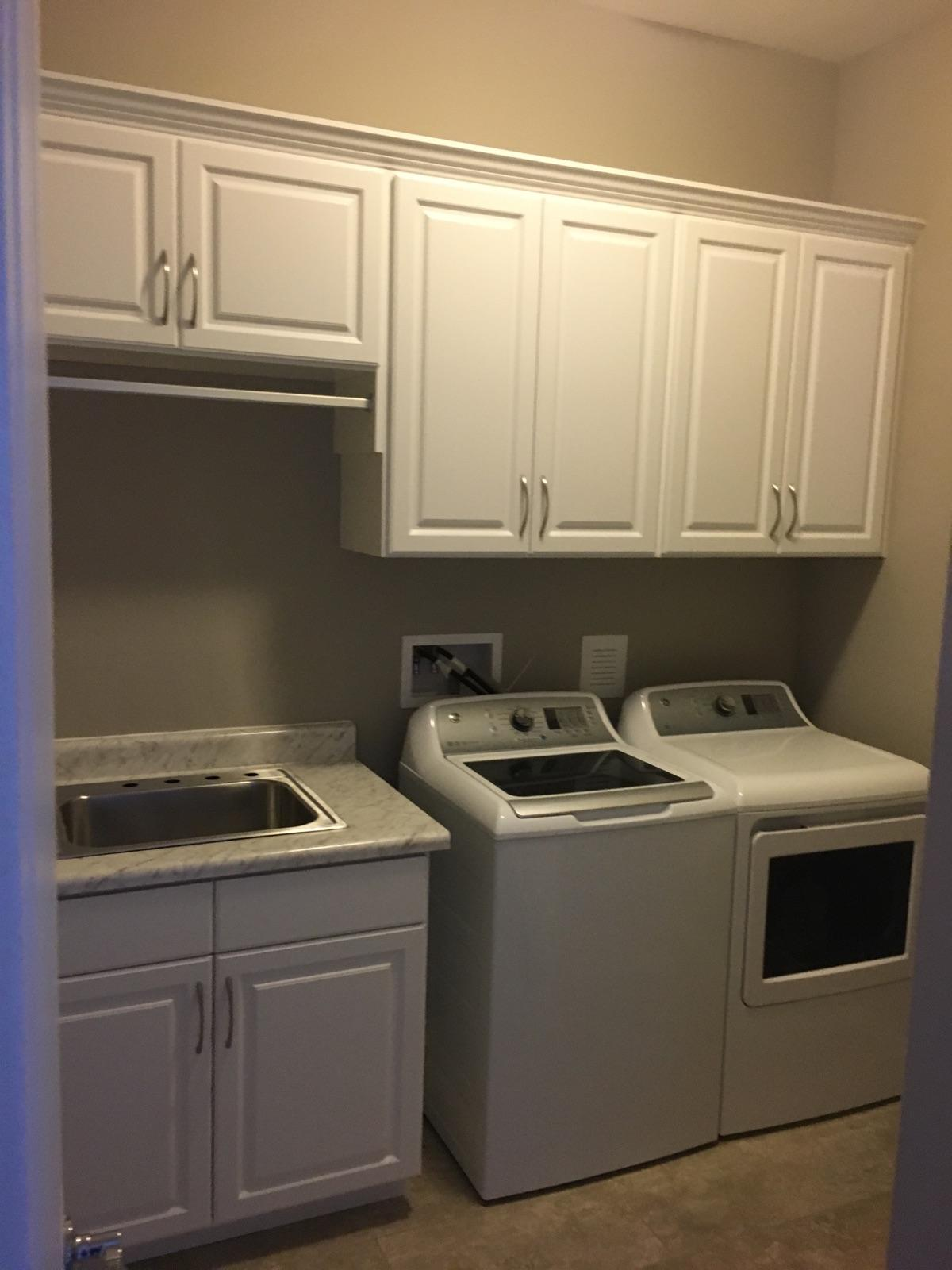 Pantry and Laundry