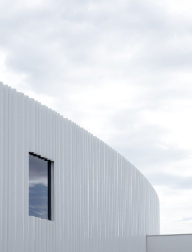 Vitra Campus factory building Basel designed by SANAA_Nancy Da Campo architecture photography