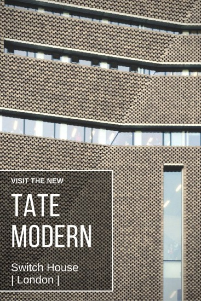 PINT IT_Tate Modern Gallery in London opened its extension the Switch House