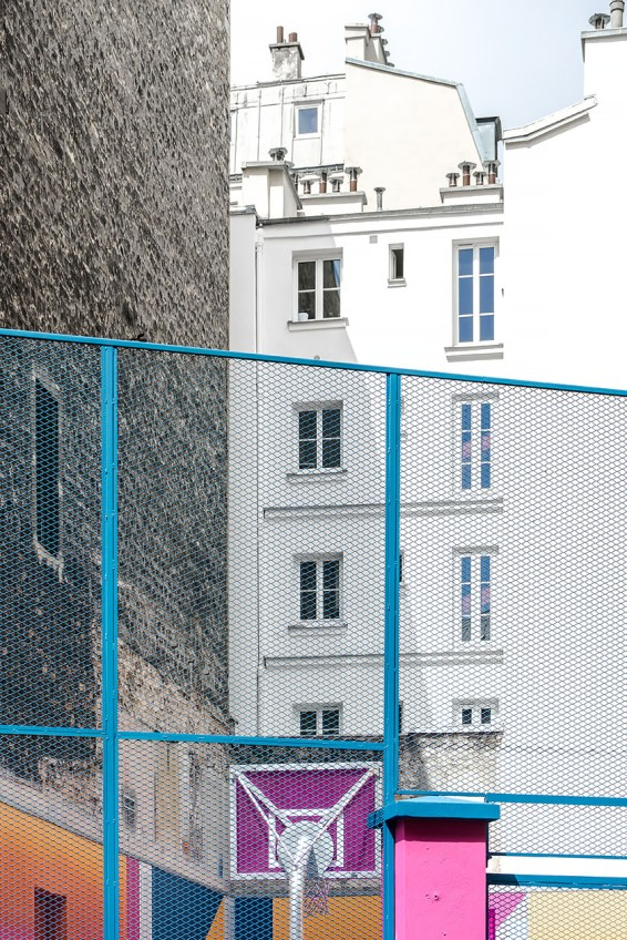 Pigalle basketball court_architecture in Paris_Nancy Da Campo photography