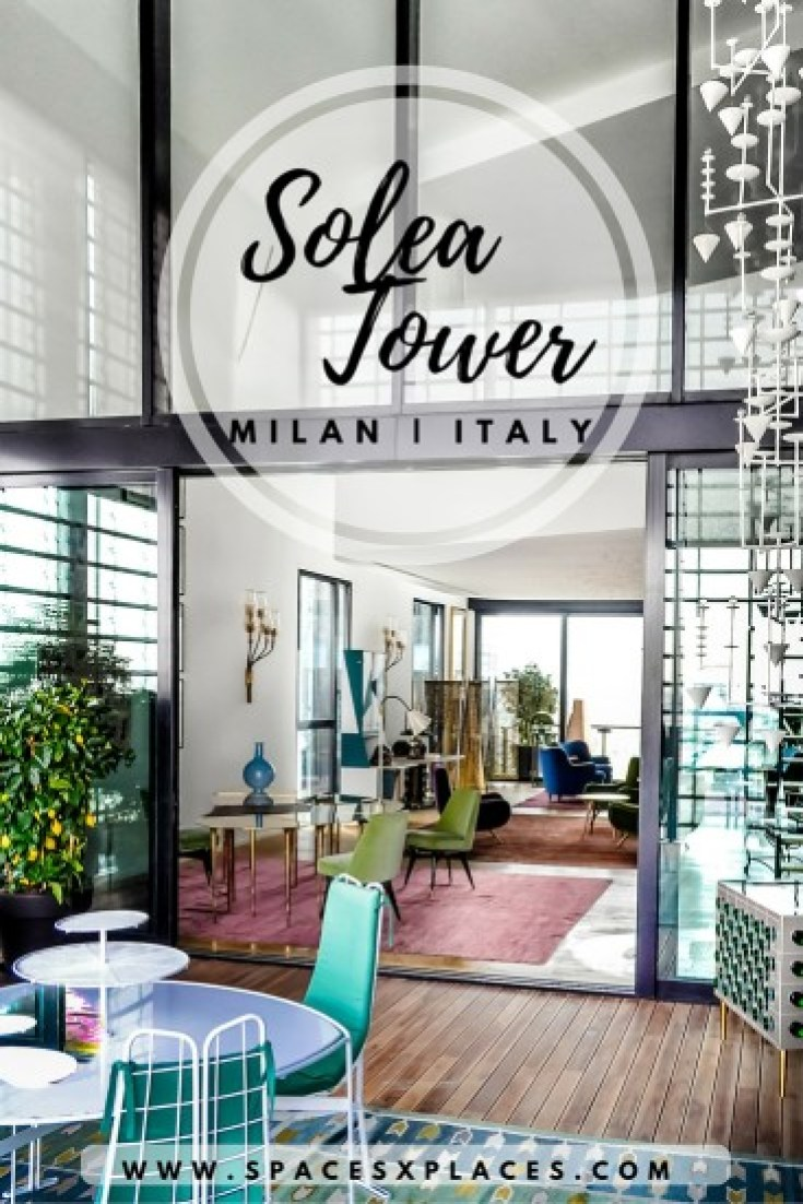 Pin this interiors of Solea Tower in Porta Nuova, Milan, Italy, design by the italian firm Caputo Paertnership