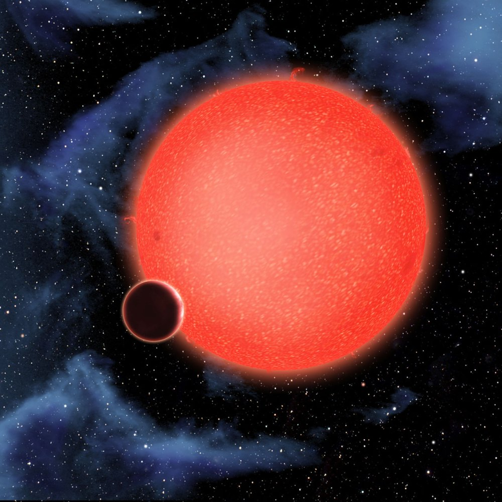 medium resolution of as we find more and more planets orbiting other stars we keep finding ones that are weirder and weirder enter gj 1214b while much more massive than the