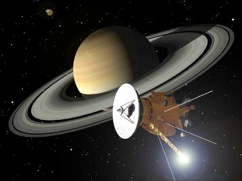 CassiniAtSaturnNASAart1.jpg