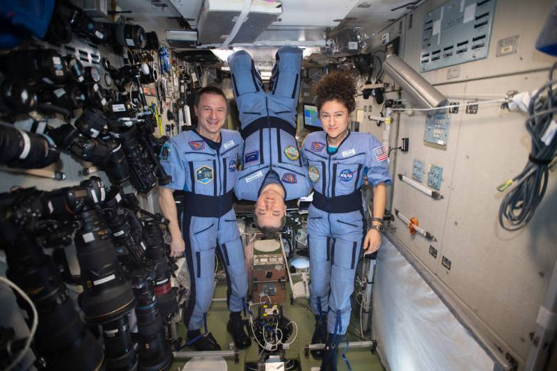 ISS Crew of Meir, Morgan, Skripochka Set to Depart: Watch Live