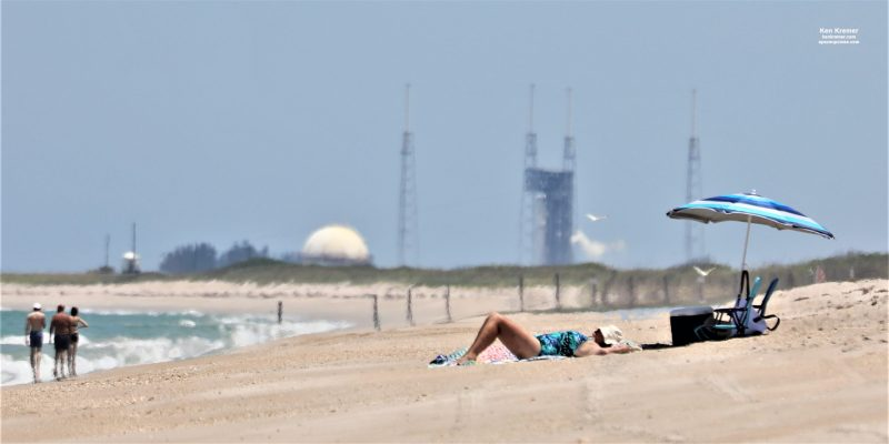 ULA Completes Wet Dress Rehearsal of Atlas V Rocket for NASA Mars Perseverance Rover Launch: Photos