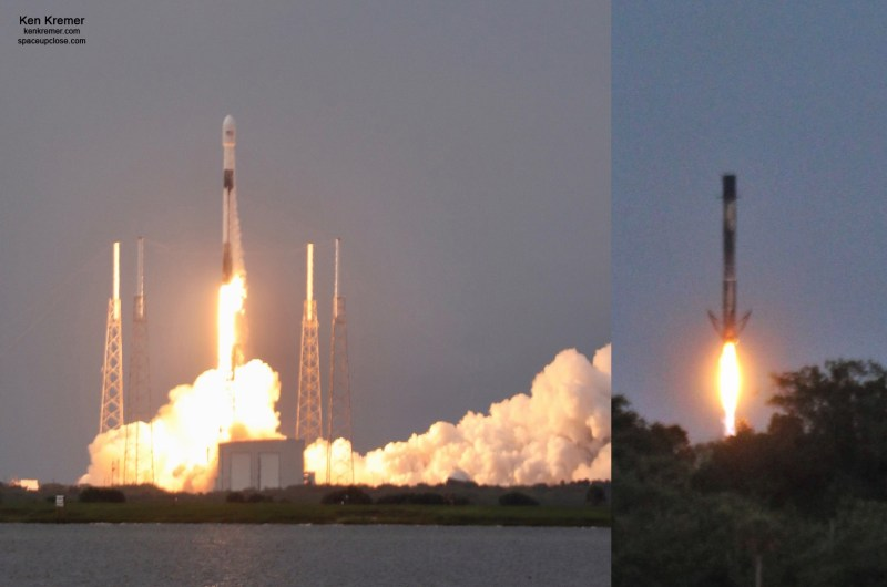 SpaceX Accomplishes Historic 1st Polar Orbit Launch in Decades and Lands Booster At Cape