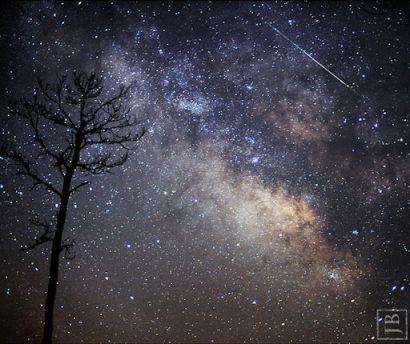 Chuva de meteoros Lyrids na Constelação de Lyra | Thoth3126