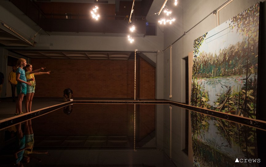 China Lake Juxto by Matthew Olds -– Installation View at 1120 Pacific Avenue, 1st floor, May 2015