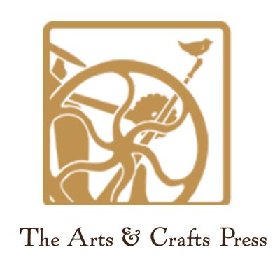The Arts Crafts Press Logo - square