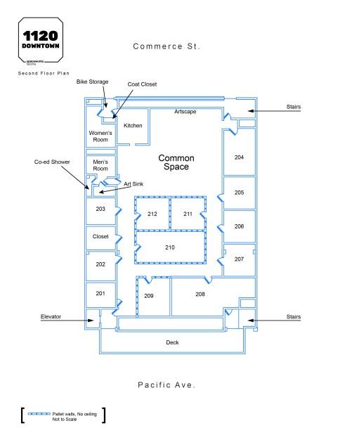 1120 Downtown Floor Plan