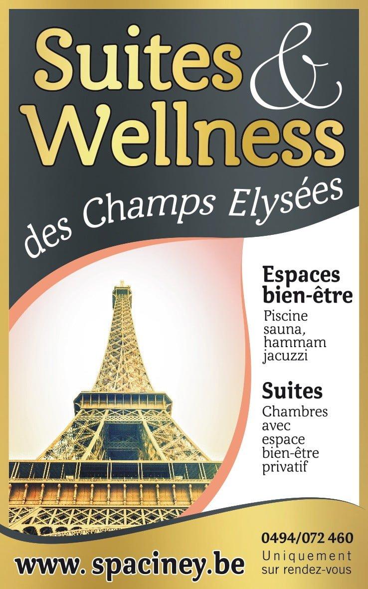 Sejour wellness en suite luxe et espace bientre  Ciney Namur