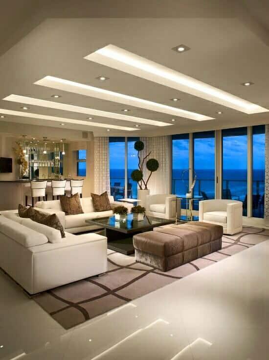 Nuevas ideas de decoracin en diseos de techos para