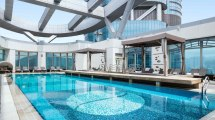 Hotel Swimming Pools In Hong Kong Spacious