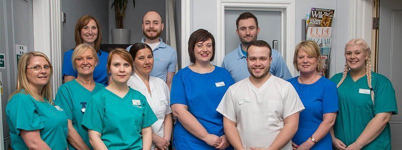 contact the Plymouth practice - photo of the team - contact dentist Plymouth