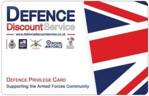 Defence Discount Card