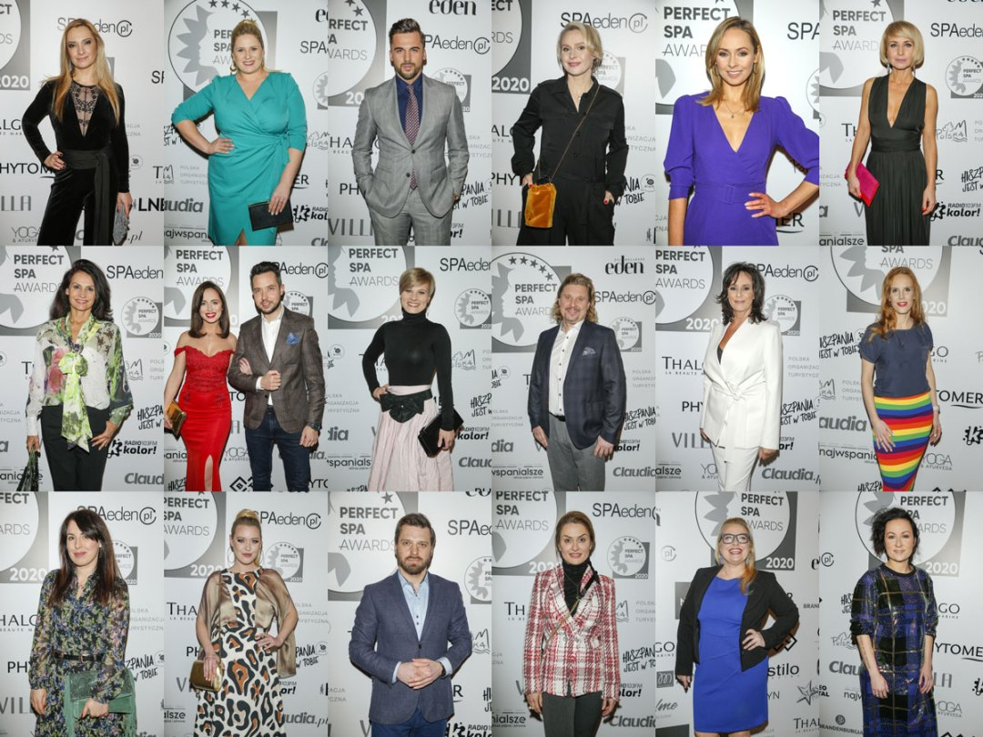 Plejada Gwiazd Perfect SPA Awards 2020