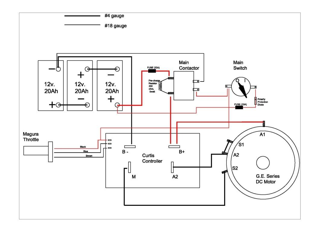 motor control wiring diagram simple for motorcycle 1264 controller get free image