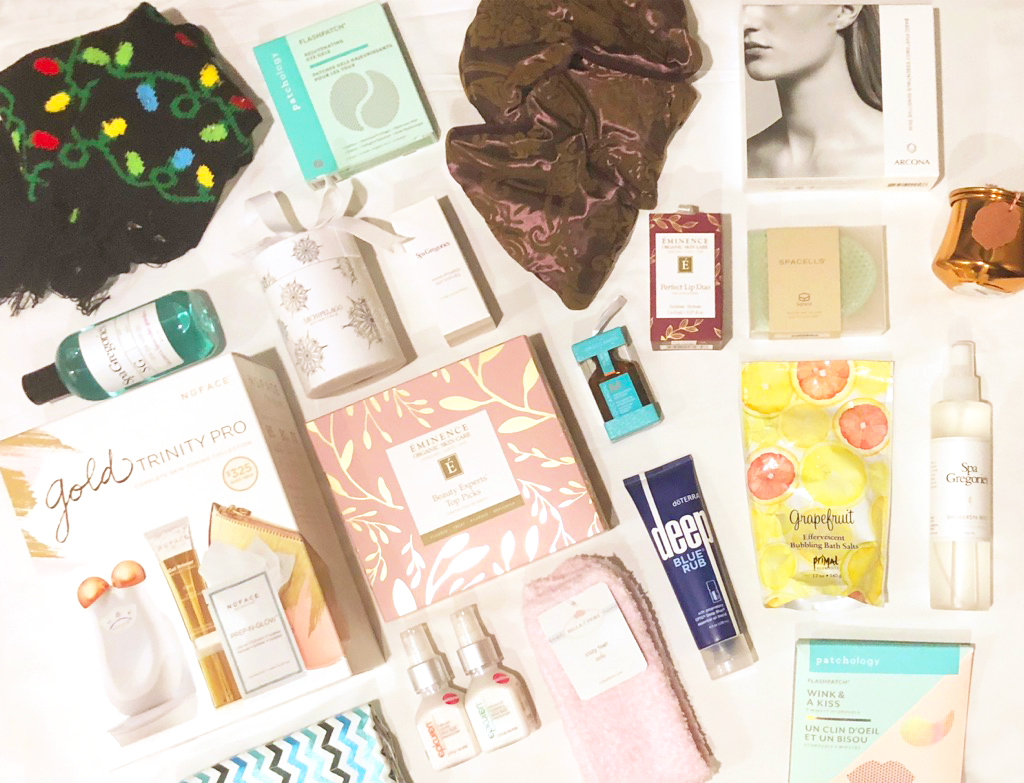 flat lay photo of gift guide items