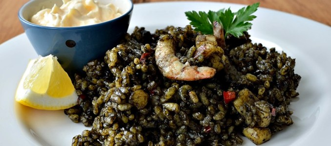 Arroz negro - Black Rice