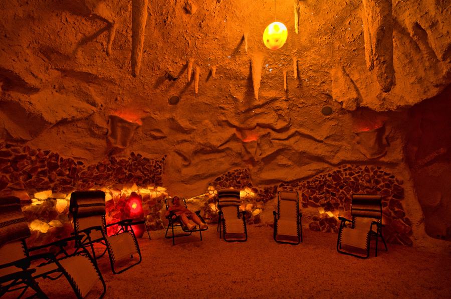 The Salt Cave  Spa  White Sulphur Springs