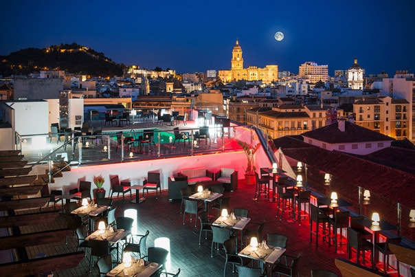 Malagas Best Rooftop Bars
